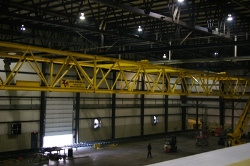 204 FT Span 22-Ton Capacity Truss Crane Complete with Free Standing Structure