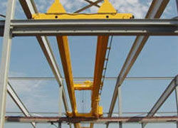 double girder outdoor service crane