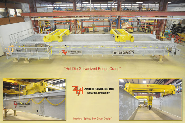 Hot Dip Galvanized Cranes